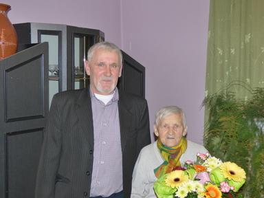 Galeria Gmina Tułowice - Najstarsza mieszkanka gminy